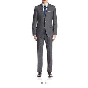 Hugo Boss Hutson Gander Slim-Fit Two-Piece Suit
